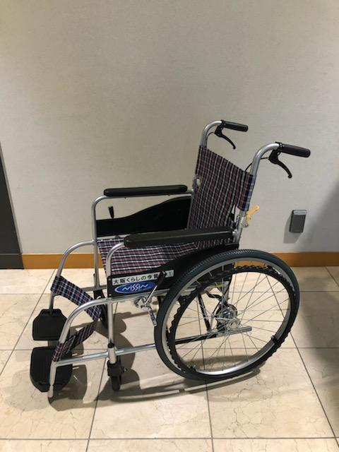 貸出用車椅子<br /> (4台ご用意しております)